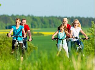 秋季骑车好处多,骑车的好处是什么?